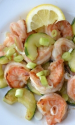 Quick Asian Style Shrimp Saute
