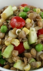 Lentil Vegetable Salad