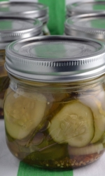 Crunchy Homemade Pickles