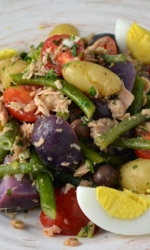 Salad Nicoise with a Twist