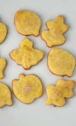 Polish Butter Cookies (Autumn Version)
