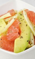 Avocado Grapefruit Fennel Salad