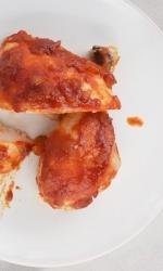 Baked Sriracha BBQ Chicken