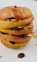 Baked Apple Snack Stacks