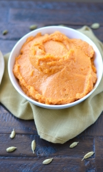 Cardamom Scented Whipped Sweet Potatoes