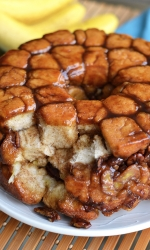 Banana Caramel Monkey Bread