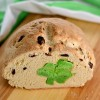 Hidden Shamrock Irish Soda Bread