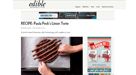Edible Manhattan | RECIPE: Paula Peck's Linzer Torte