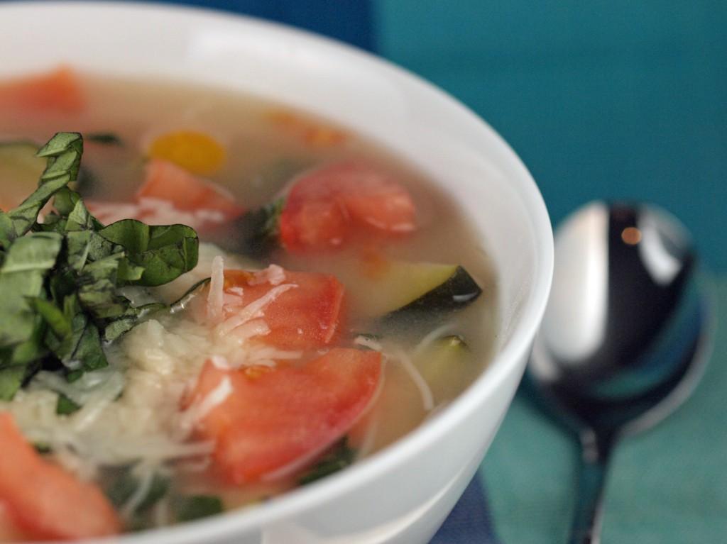 Basil Vegetable Soup | ImPECKable Eats