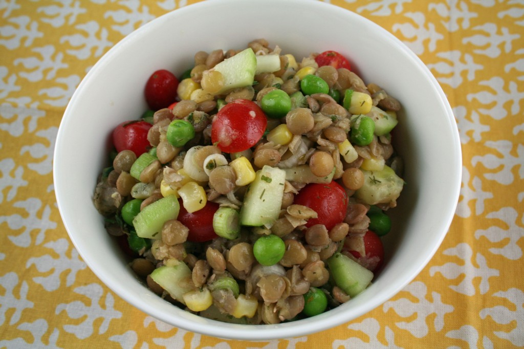 Marinated Lentil Salad by Paula Peck