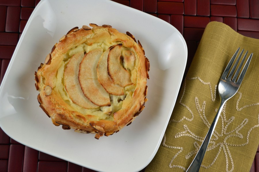 Individual Apple Cheese Cake Puff
