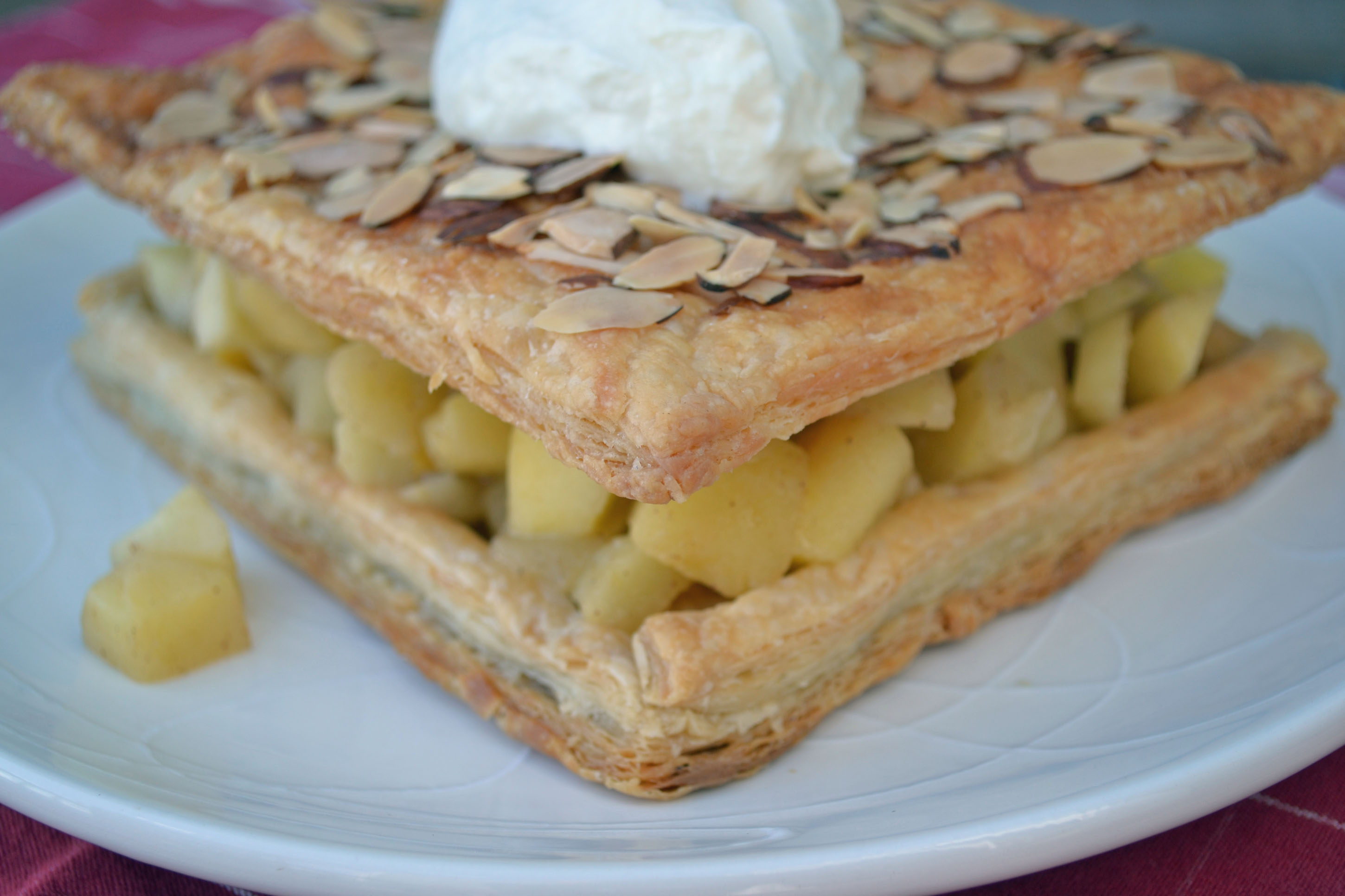 Sauteed Apple Cake