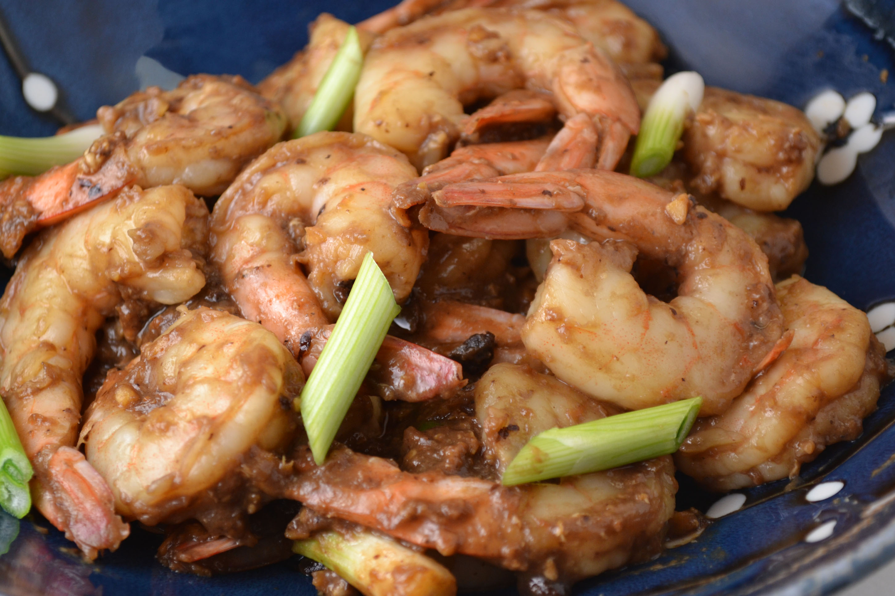 Chinese Style Shrimp with Black Bean Sauce | ImPECKable Eats