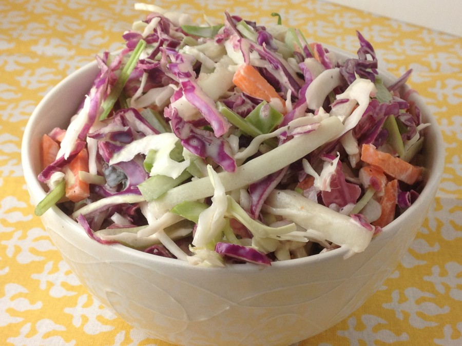 Two-Toned Cole Slaw