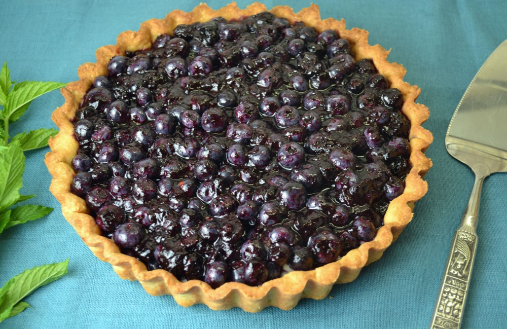 Blueberry Tart | imPECKable Eats