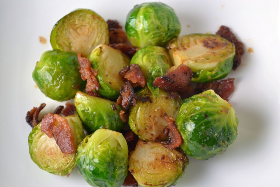 Brussels Sprouts with Bacon close