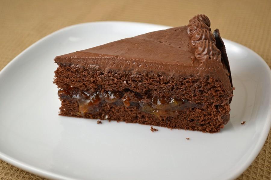 Mocha Torte Slice