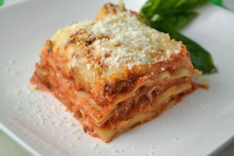 Lasagna No Ricotta