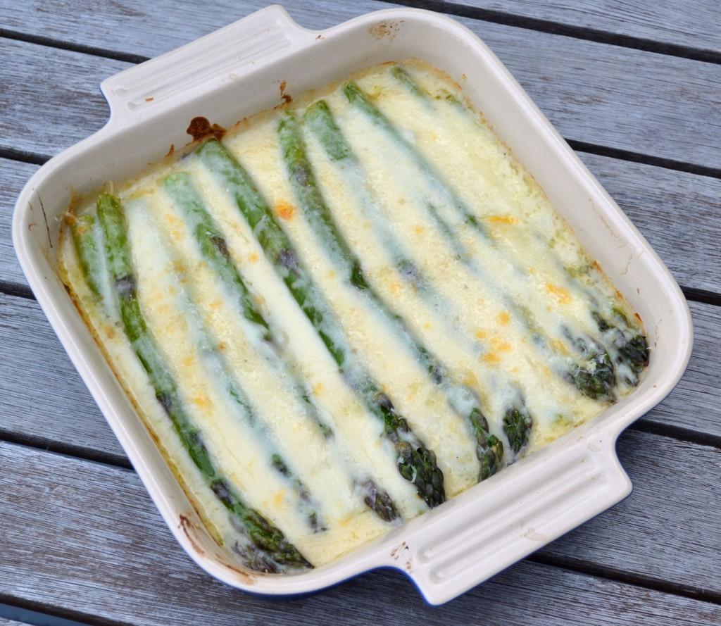 Asparagus Gratin | impeckableeats.com