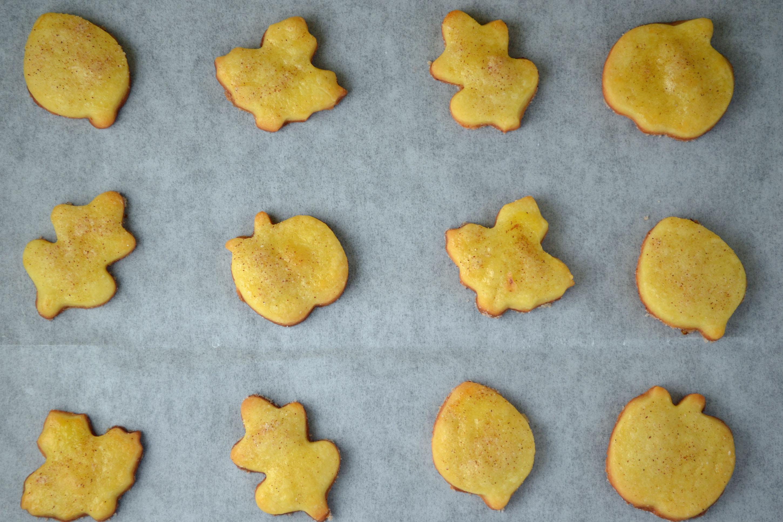 Autumn Polish Butter Cookies
