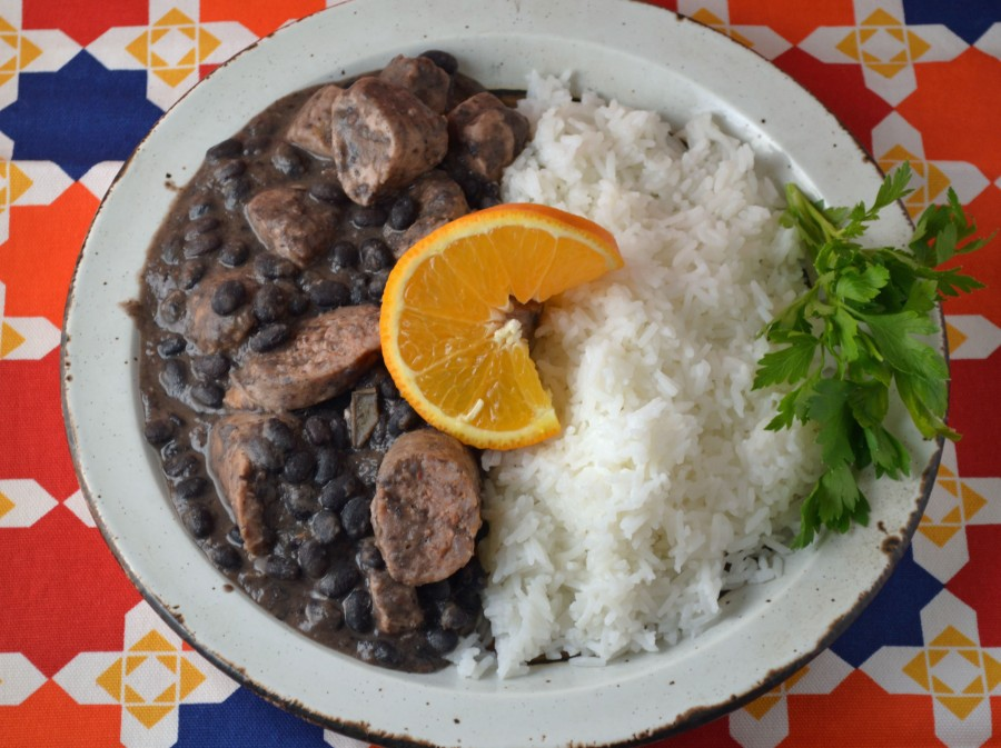 Pork and Rice with Black Beans