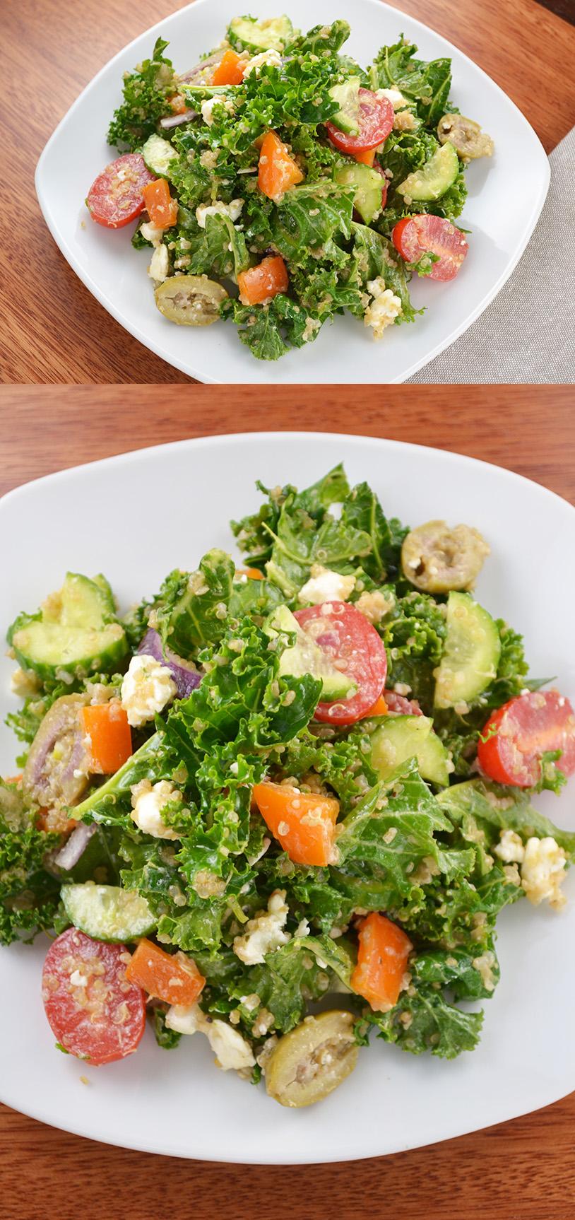 Greek Kale Salad