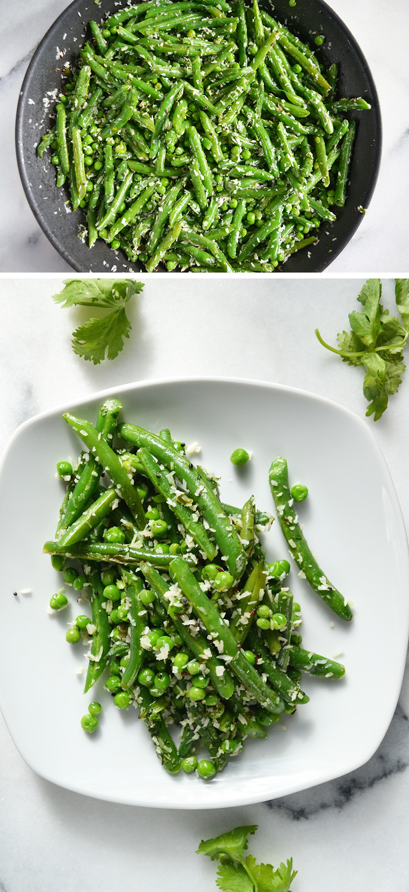 Indian Green Beans and Peas