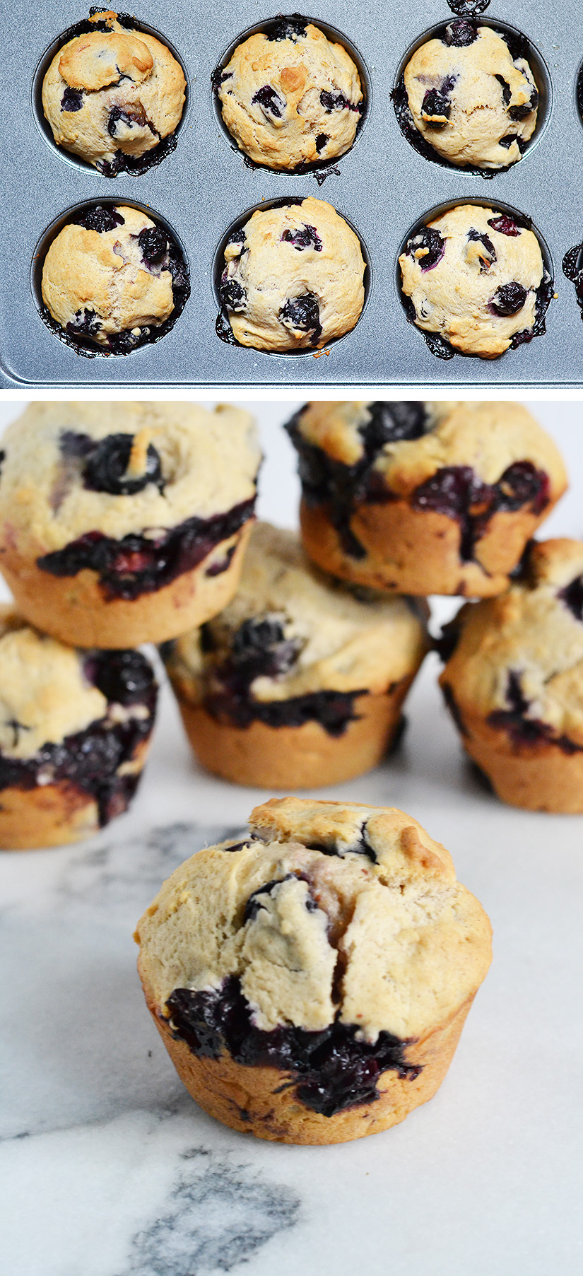 Cinnamon Blueberry Muffins | ImPECKable Eats