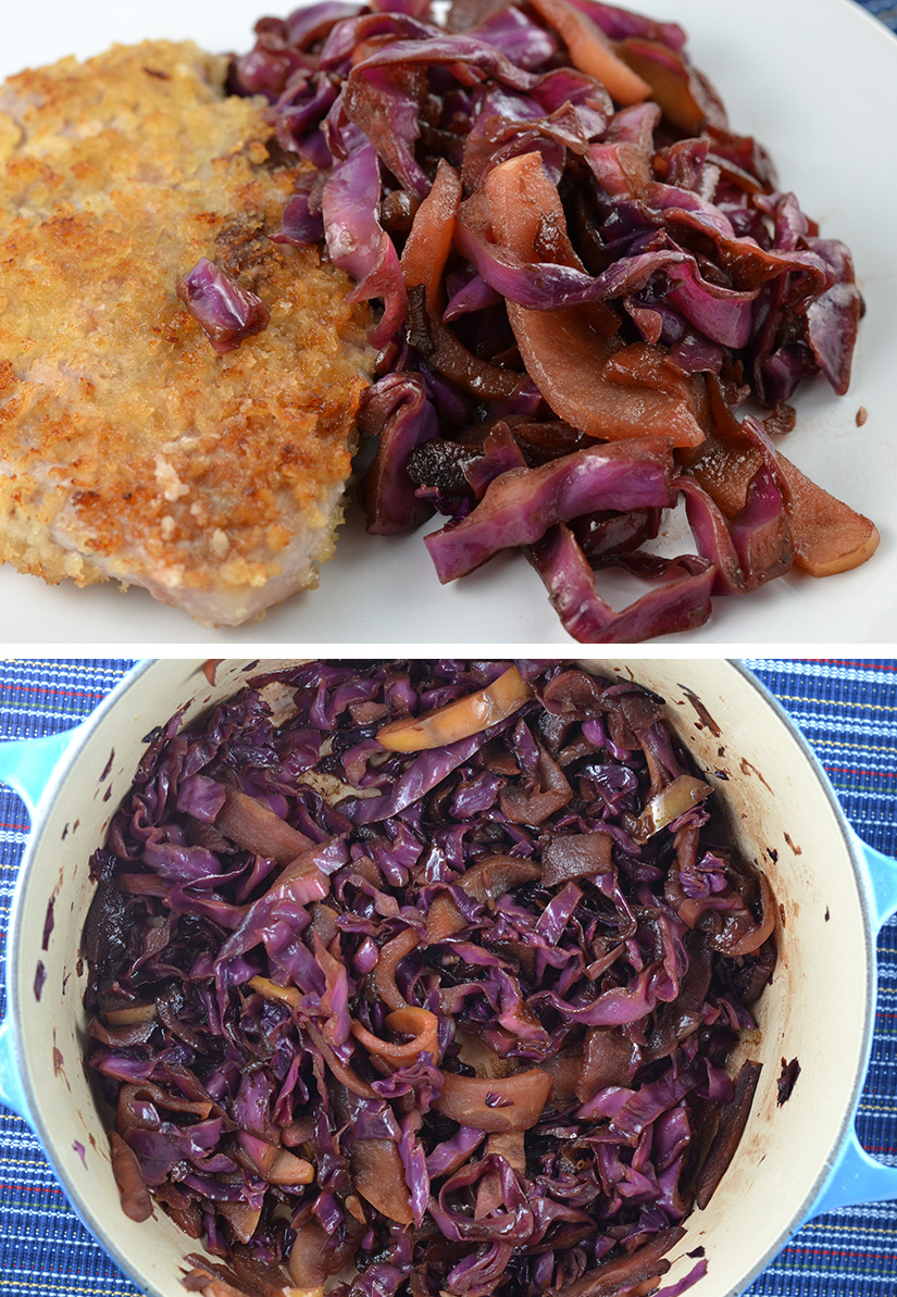 Balsamic Braised Cabbage