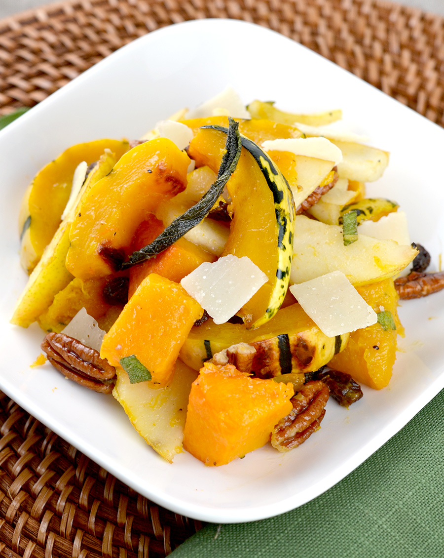 Winter Squash with Brown Butter Dressing