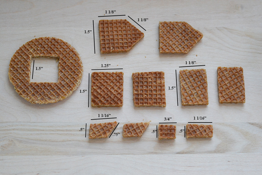 Stroopwafel House Mug Topper Parts