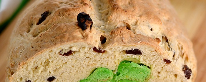 Peekaboo Irish Soda Bread | impeckableeats.com