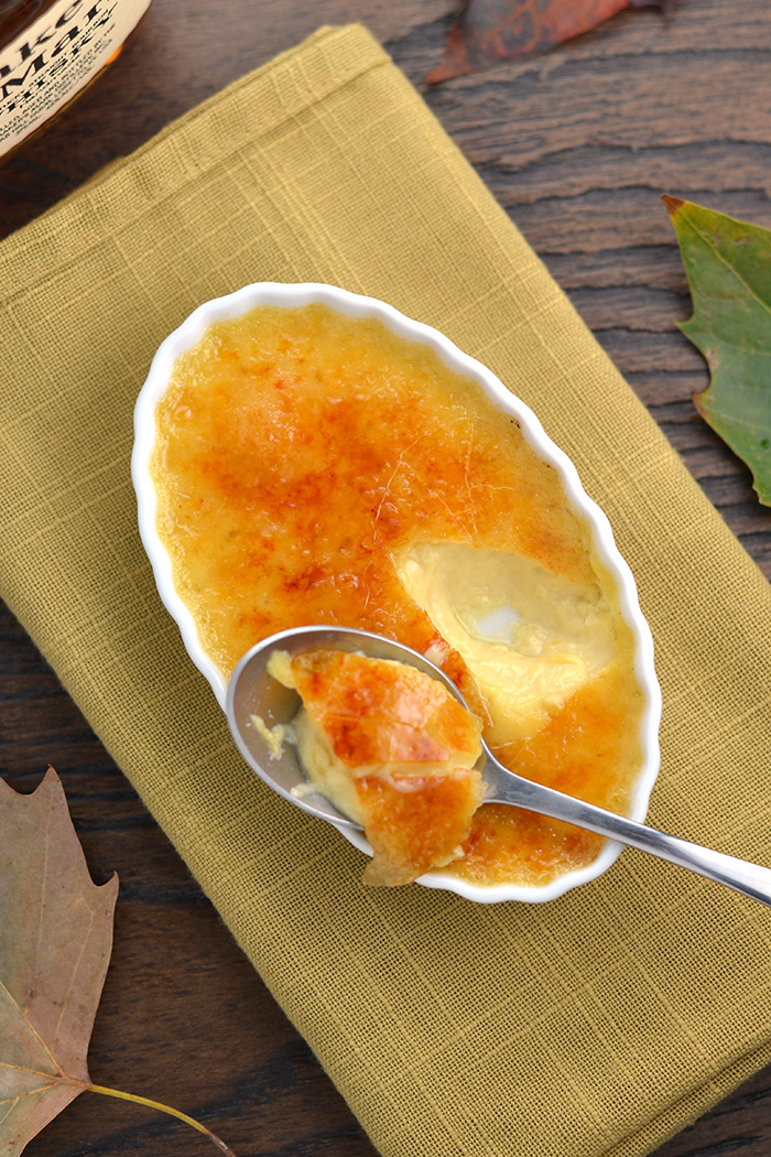 Maple Creme Brûlée - Impeckable Eats