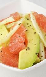 Avocado Grapefruit Fennel Salad