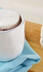 Chocolate Chip Stuffed Marshmallow Mug Toppers