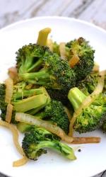 Spicy Cumin Scented Broccoli