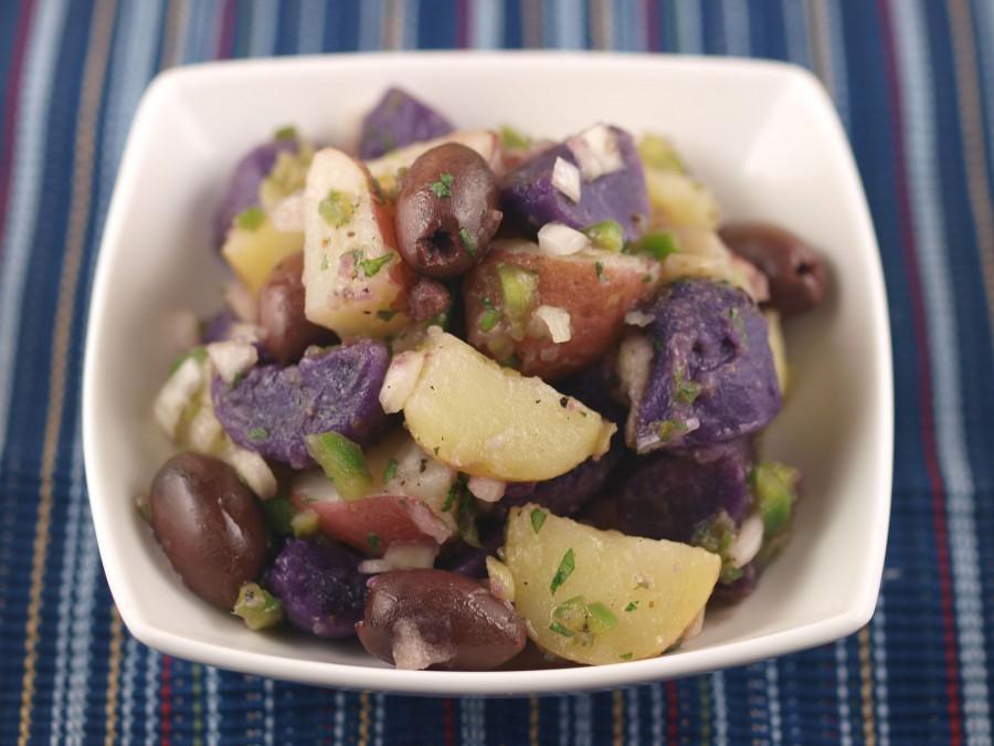 Multicolor Potato Salad