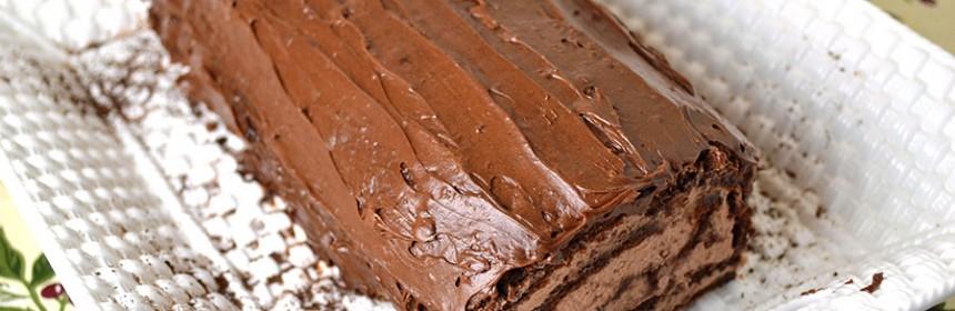 Chocolate Roll or Buche de Noel | ImPECKableeats.com