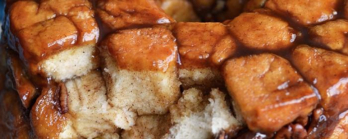 Banana Caramel Monkey Bread | impeckableeats.com